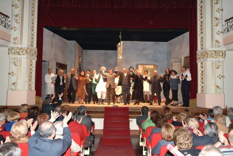 Compagnia Oplontis Rappresentazione della commedia la morte di Carnevale teatro Mattiello Pompei