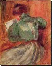 La Liseuse verte de Renoir