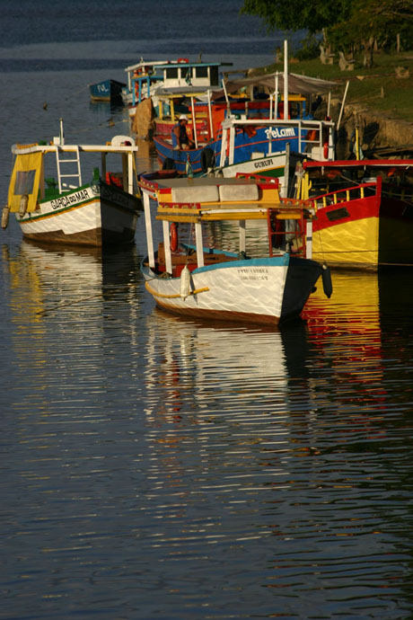Fishing Boats, Paraty, Brazil