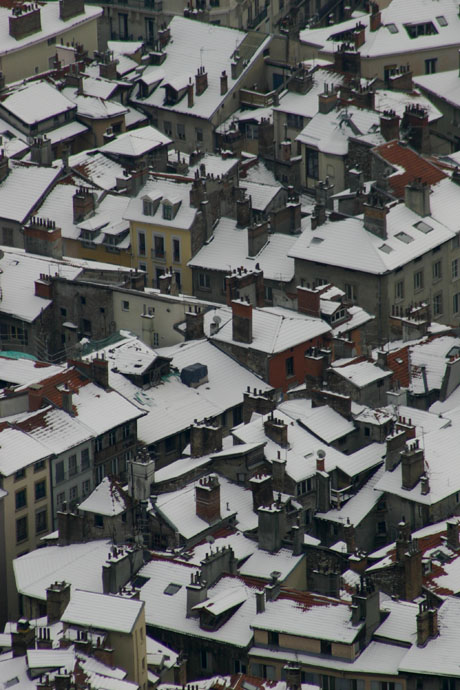Rooftops, Grenoble, France