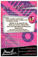 WANTED STYLISTS!