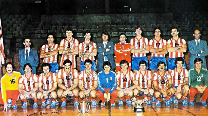 CAMPEONES BALONMANO 1980/81