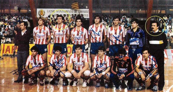 BALONMANO, CAMPEONES LIGA 1985