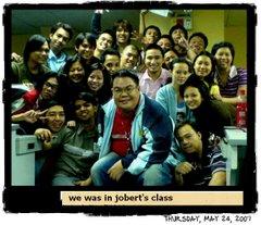 jobert's class