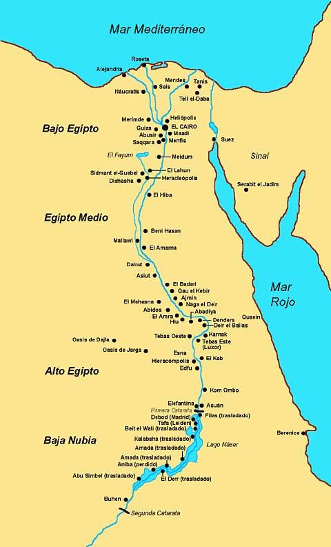 mapa de egipto  Cairo Cafe