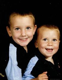 My 'boys' age 4 & 2