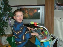 Callum Christmas 2006