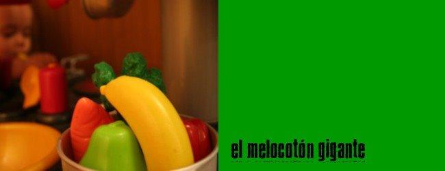 El  melocotón gigante