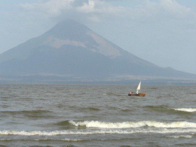 Fishing boat in Lake Nicaragua