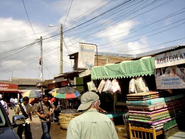 Pat in the Mercado