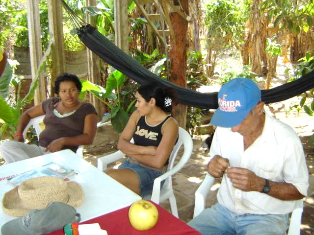 Reyna, Jacquelin, and Reinaldo