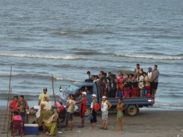 Beach truck