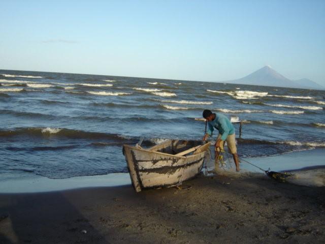 Lake Nicaragua fisherman