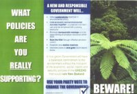 Front of one of the anti-Green Brethren pamphlets.