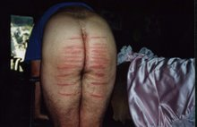 A sample of Mrs Birch's caning