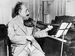 ...tocaba el violín