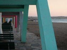 Praia das Miragens: arcadas 2
