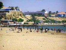 Praia das Miragens e vista fortaleza e alta da cidade