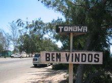 Entrada em Porto Alexandre (Tombwa)