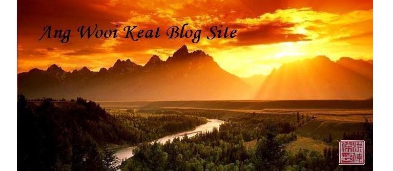 Ang Wooi Keat Blog Site