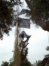 aion mobile on tree by begin of europ - exhibition 2004 in the gallery of coral beach hotel cyprus.