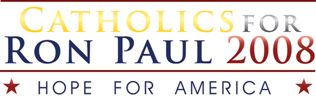 Catholics for Ron Paul