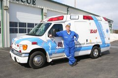 Enosburgh Ambulance's New Truck