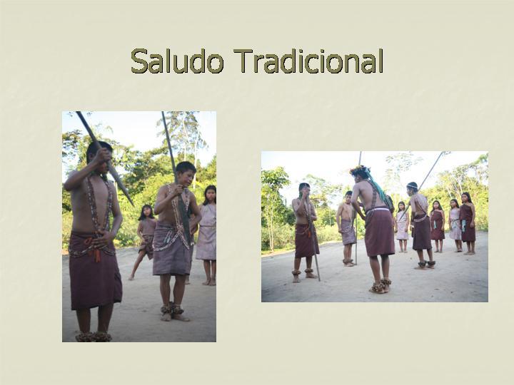 Conservando las tradiciones