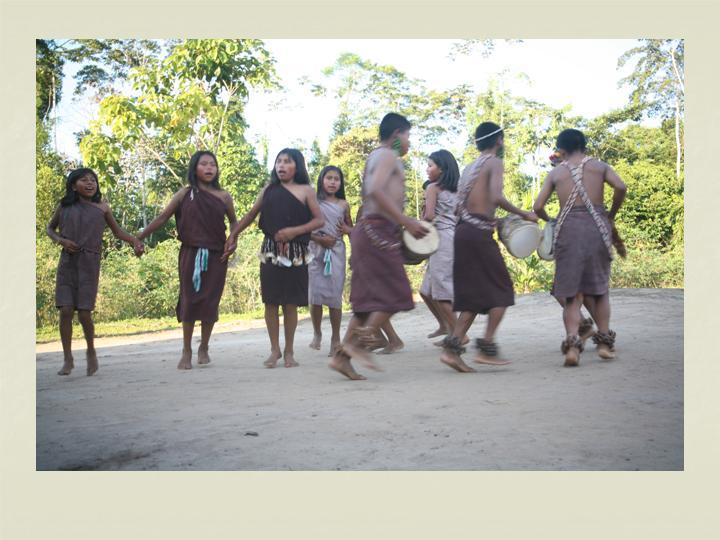 Natsemau / baile típico