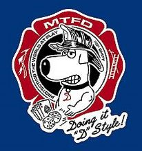 MTFD D SHIFT STICKERS