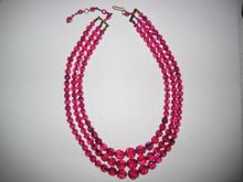 Michele Pfieffer's Pink Necklace!