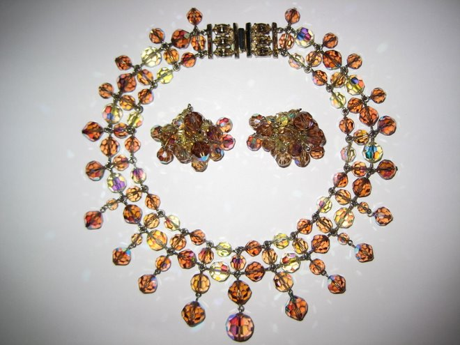 Awesome Amber Sherman Crystal Bib