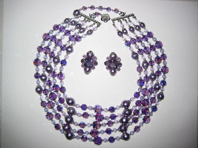 Spectacular Sherman Purple Pearl Crystal Pandemonium