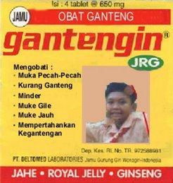 OBAT GANTENGIN