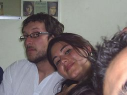 El flaite y su linda señora
