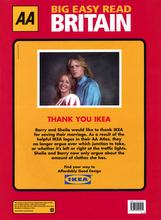 Ikea - AA Atlas Sponsorship