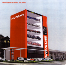 Honda - Vending Machine