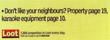 Loot - Neighbours