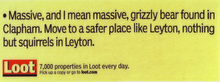 Loot - Grizzly