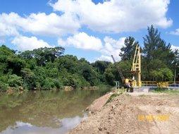 Abastecimento de água para Campinas, SP. Sistema ETA-4