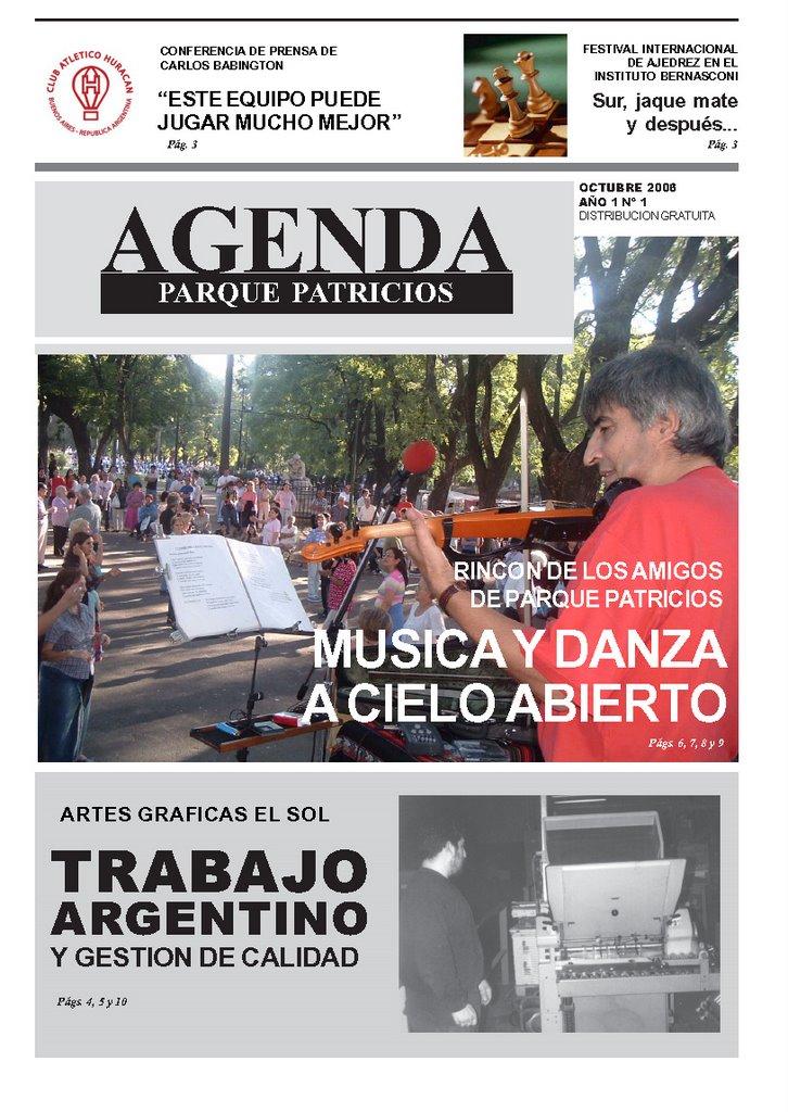 Agenda Parque Patricios