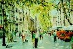 Las Ramblas de Barcelona. Autor: Eduardo Berenguer.