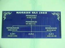 Struktur Organisasi Madrasah Haji Zabir