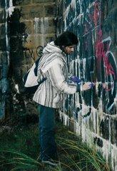 """Novembre 2003 - Installation environnementale à Saint Vincent sur Jard avec l""""association Arthymus"""