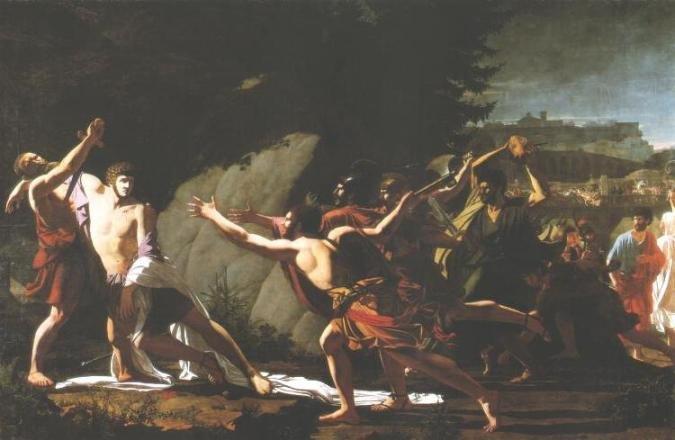 La mort de Caius Gracchus par Topino Lebrun.