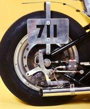 "M&H 8"" Rear Tire"
