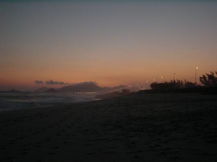 Final de tarde na Reserva - Barra - RJ
