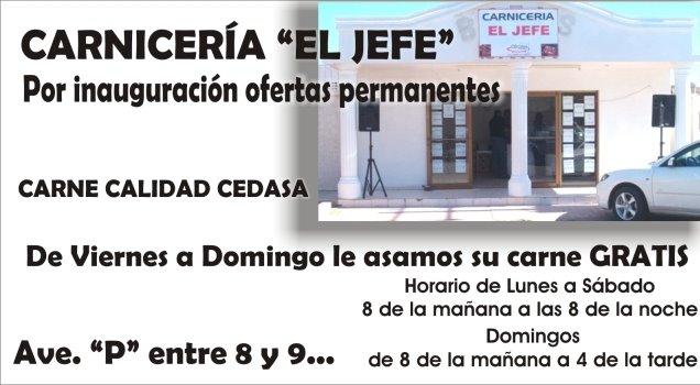 CARNICERIA EL JEFE