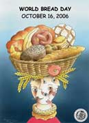 Plakat zum Weltbrottag 2006