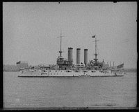 U.S.S. Maine, broadside, Library of Congress, Prints & Photographs Division, [reproduction number, LC-D401-21895